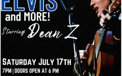 Elvis – Saturday July 17th