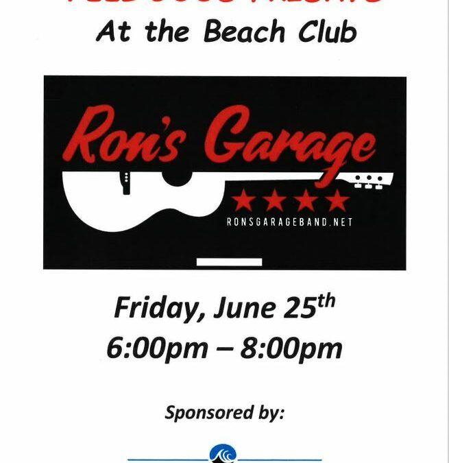 "Ron Garage – ""Feel Good Fridays"""