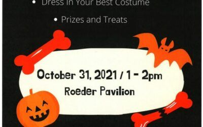 Halloween Party – October 31, 2021 1pm – 2pm – Roeder Pavilion
